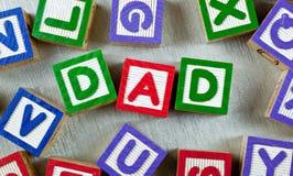 Papá Imágenes de archivo libres de regalías