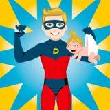 Papá del héroe estupendo libre illustration