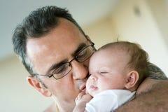 Papá e sua princesa Foto de Stock