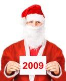Papá Noel 2009 Fotos de archivo