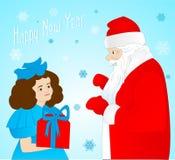 Papá Noel _2 Foto de archivo libre de regalías