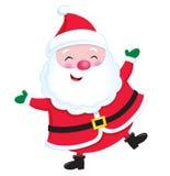 Papá Noel alegre Foto de archivo libre de regalías