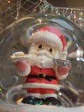 Papá Noel atrapado Imagenes de archivo