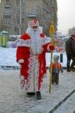 Papá Noel con la barba blanca, la Navidad, Fotos de archivo