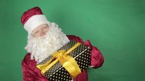 Papá Noel con los regalos metrajes