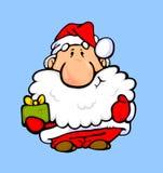 Papá Noel con los regalos 2 Foto de archivo