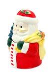 Papá Noel de cerámica Fotografía de archivo libre de regalías