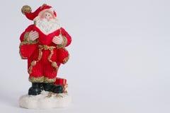 Papá Noel de cerámica Imagen de archivo libre de regalías