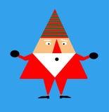 Papá Noel divertido Imágenes de archivo libres de regalías