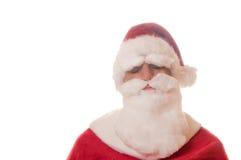 Papá Noel durmiente Imagen de archivo libre de regalías