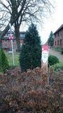 Papá Noel en el lemmie, Hannover Alemania Foto de archivo