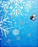 Papá Noel en un trineo Fotos de archivo libres de regalías