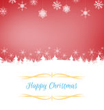 Papá Noel en un trineo Fotos de archivo