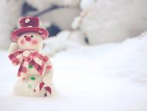 Papá Noel en un trineo Foto de archivo