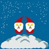 Papá Noel EPS 10 Fotos de archivo libres de regalías