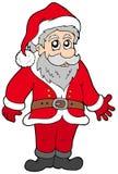 Papá Noel feliz libre illustration