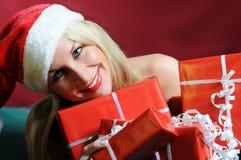 Papá Noel hermoso Foto de archivo libre de regalías