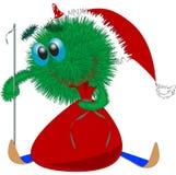 Papá Noel lanudo libre illustration