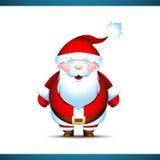 Papá Noel lindo Imagen de archivo libre de regalías