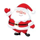 Papá Noel pintado a mano Fotografía de archivo libre de regalías
