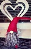Papá Noel rojo Imagen de archivo libre de regalías