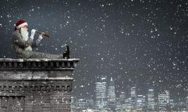 ¡Papá Noel vendrá! Fotografía de archivo