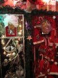 Papá Noel y señora Claus Decoración de Claus Christmas imagenes de archivo