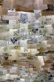Papéis com texto imagem de stock royalty free