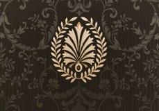 Papéis de parede antiquíssimos Fotografia de Stock Royalty Free
