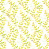 Papéis de parede florais coloridos A textura sem emenda para fundos e a página enchem o design web Ilustração do vetor Fotografia de Stock