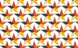 Papéis de parede sem emenda da coleção da estrela dos testes padrões Imagens de Stock Royalty Free