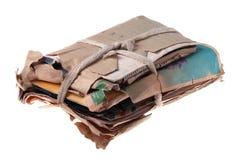 Papéis e letras velhos Imagens de Stock Royalty Free
