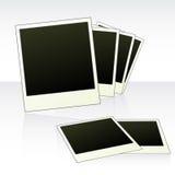 Papéis em branco da fotografia Foto de Stock