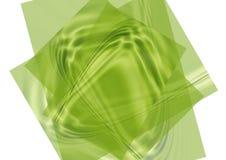 Papéis verdes Fotografia de Stock Royalty Free