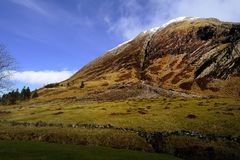 The Pap of Glencoe, Scotland Royalty Free Stock Images