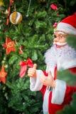 Papá Noel, la Navidad y festival del Año Nuevo Fotografía de archivo