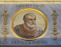 Papa Agapetus II Foto de Stock