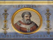 Papa Alejandro II Fotografía de archivo