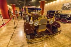 Papa Automobile Citroen, corridoio dei veicoli storici del trasporto del papa, Vaticano Fotografia Stock