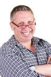 Papa avec les glaces et la montre photo libre de droits