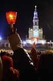 Papa Benedict in tima il maggio 2010 del ¡ di FÃ Immagini Stock
