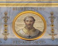 Papa Benedict VI imagem de stock
