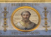 Papa Benedict VI fotografia de stock royalty free