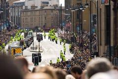 Papa Benedict XVI a Edinburgh, 16 settembre 2010 immagini stock