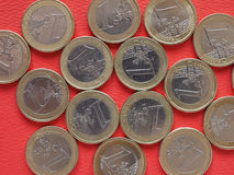 Papa Benedict XVI moeda de 50 centavos Fotografia de Stock