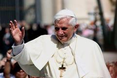 Papa Benedicto XVI Fotos de archivo libres de regalías