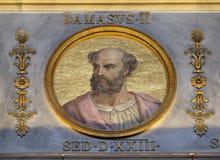Papa Damasus II Fotos de Stock