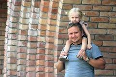 Papa and daughter Stock Photos