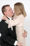 Papa de baisers Images libres de droits