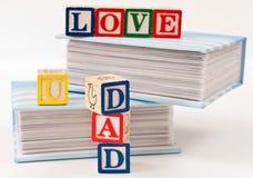 Papa de l'amour U Photographie stock libre de droits
